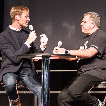 Marco Janck mit Julius van de Laar