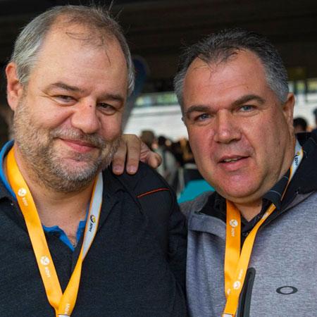 Marco Janck mit Mario Fischer